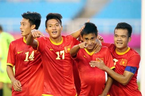 Thắng Kyrgyzstan-U23 Việt Nam gặp UAE ở vòng 1/8