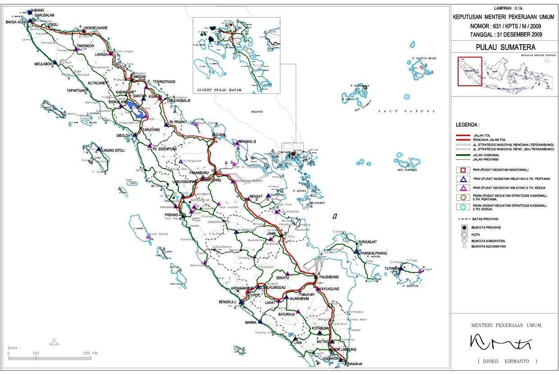 Rencana Jalan Tol Trans-Sumatera | Menuju Ridlo Allah...