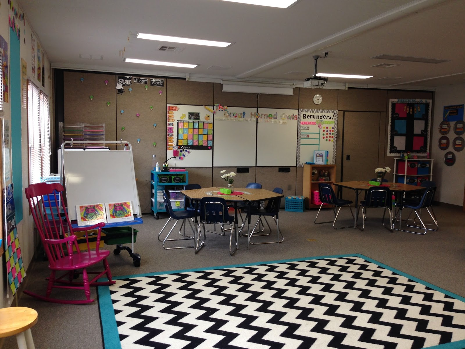 In 5th Grade with Teacher Julia: Classroom Reveal 2015-16