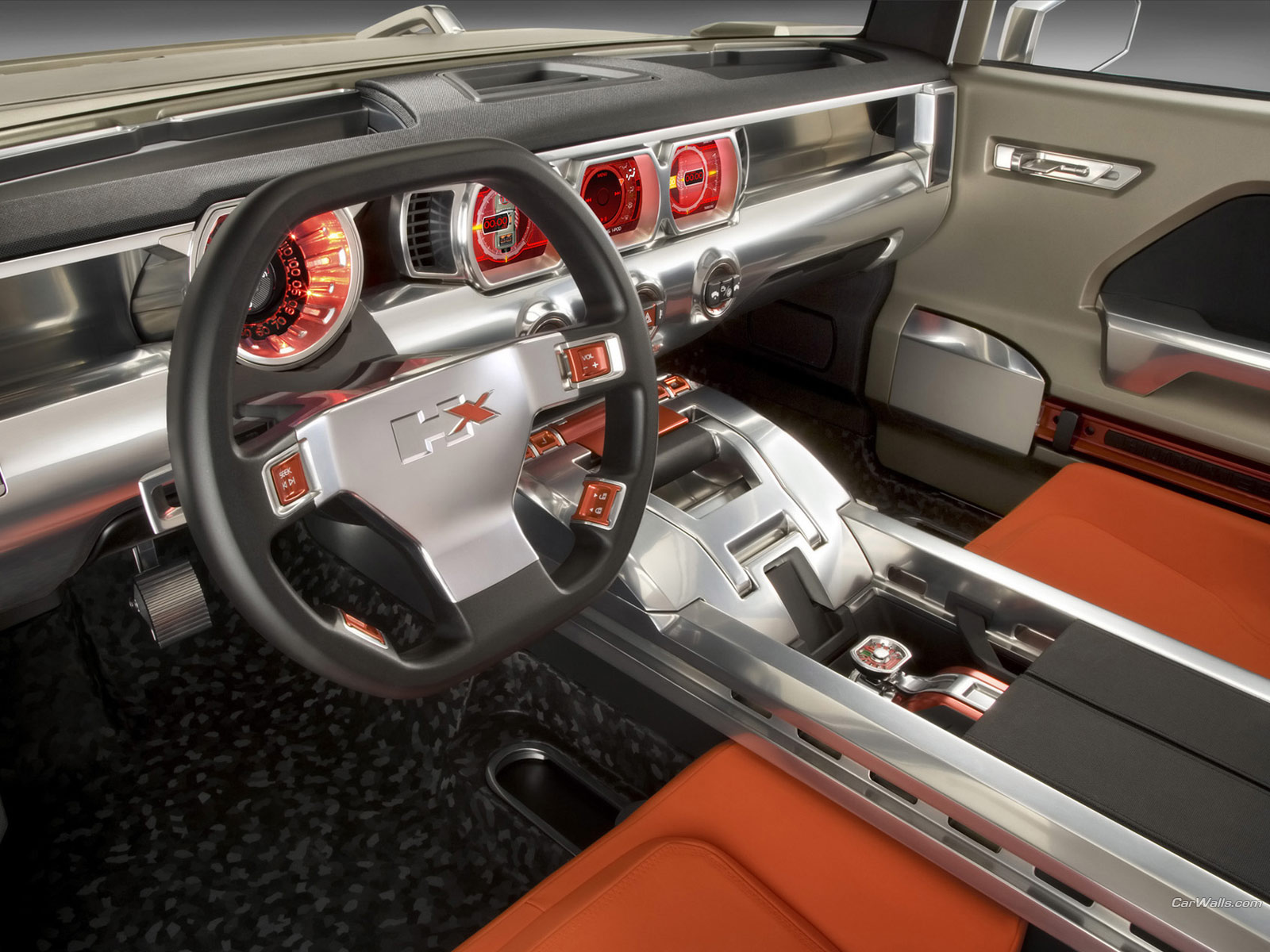 Hummer H4 Inside >> Automobiles: New Hummer HX 2012