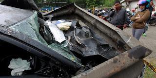 Kecelakaan Dul di Tol Jagorawi