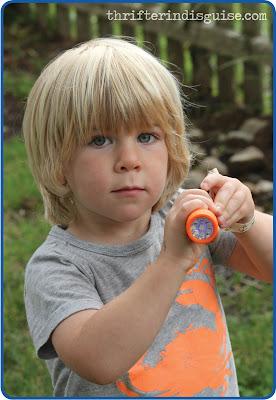 Flashlight Favors for Kids Birthday