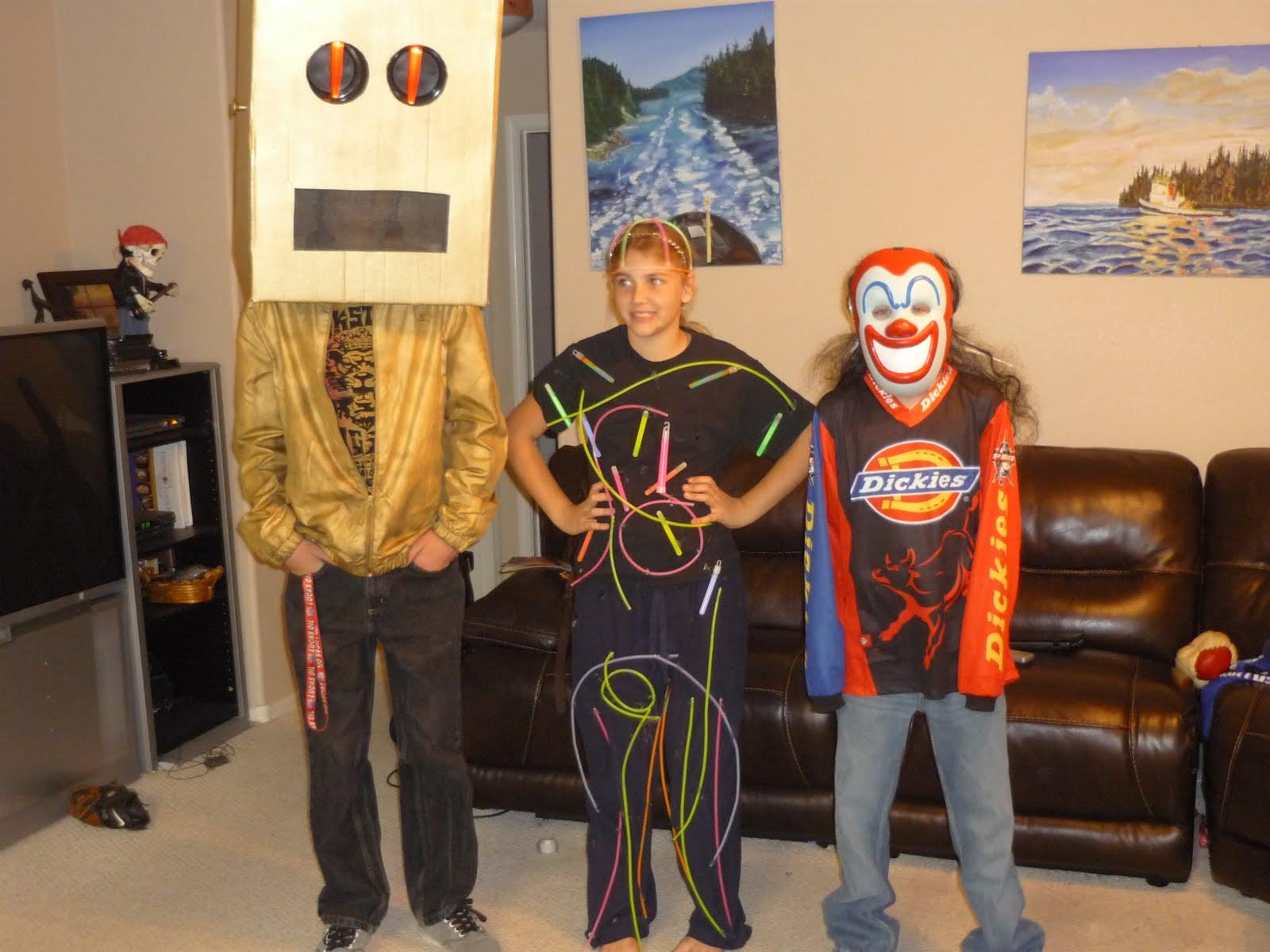 Kickn It For Clay: Halloween Fun