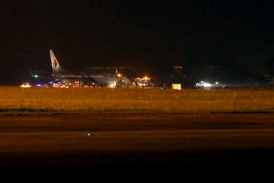 MH192 lands safely in KLIA