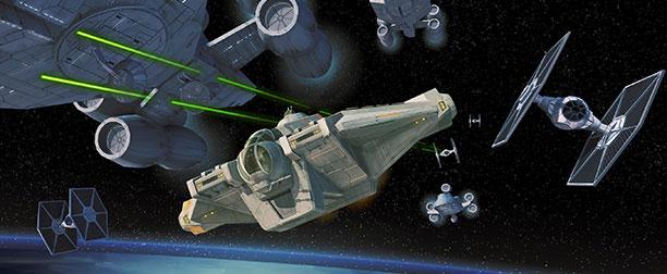 ghost space ship star wars rebels