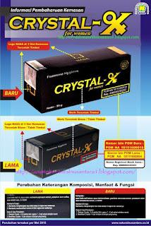 ciri'' Crystal X asly nasa