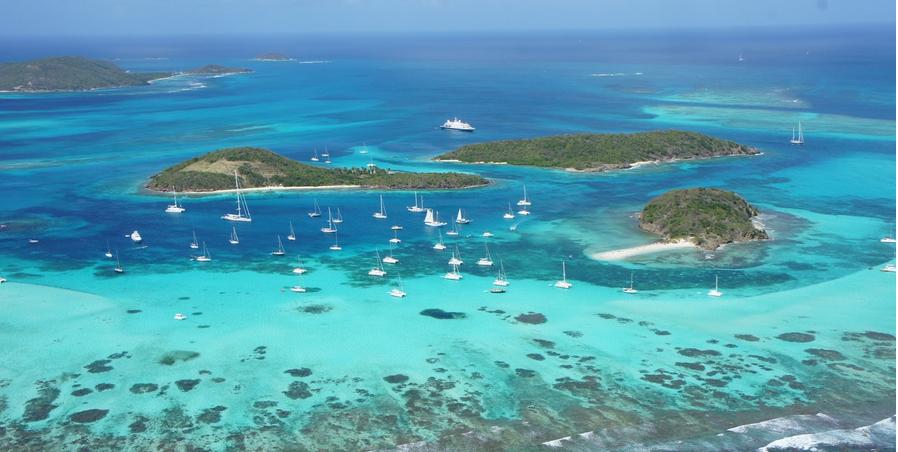 Ilhas do Caribe, como Porto Rico, Santa Lúcia e São Vicente e Granadinas, que começaram a legislar a favor da descriminalização da maconha.