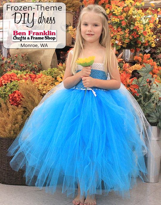 "DIY ""Frozen"" Inspired Dress or Tutu"
