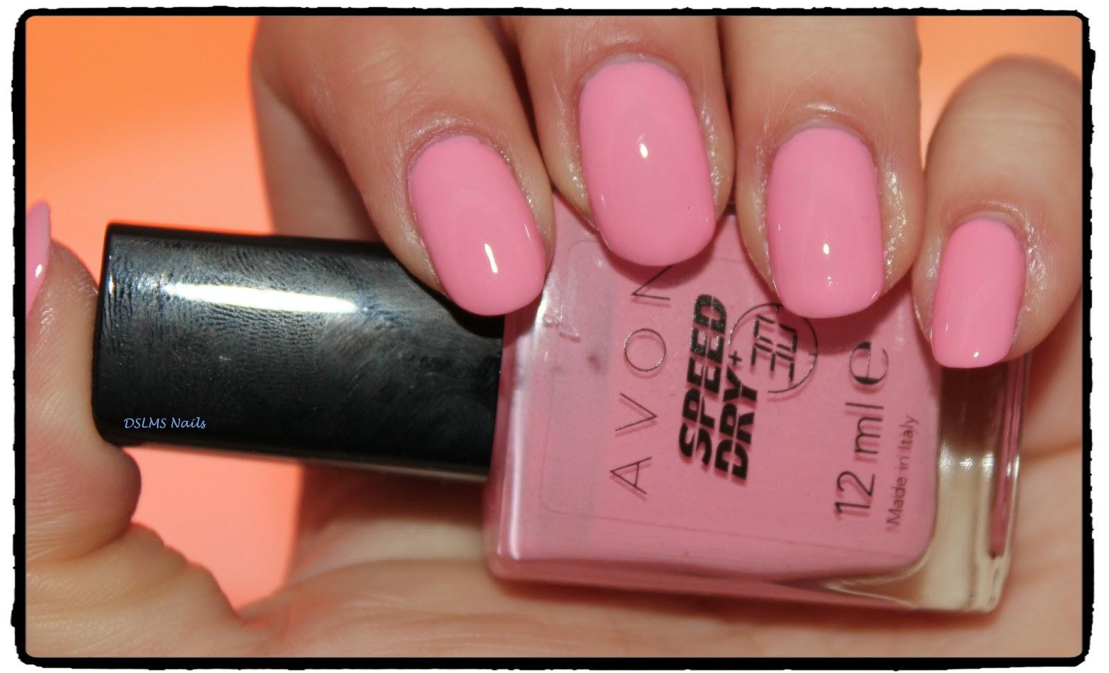 Лак для ногтей эйвон насыщенный розовый отзывы
