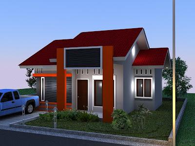 Model 1 Rumah Minimalis Terbaru 2013