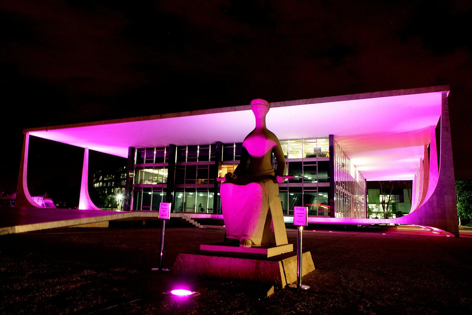 Querido Refúgio Blog de decoraç u00e3o Outubro Rosa e Promoç u00e3o Rosa! # Decoração Outubro Rosa Simples