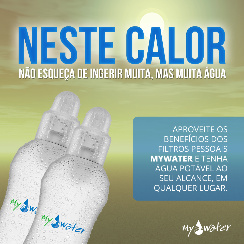 MyWater Filtro Pessoal