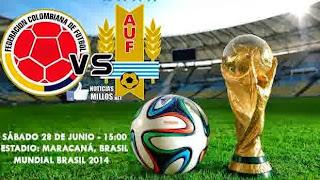 Life And Insurance - Perkiraan Hasil Akhir Pertandingan Fase 16 Besar Piala Dunia 2014 : Colombia Vs Uruguay