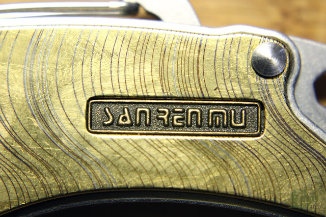 Sanrenmu Plus 4077 - Logo Closeup