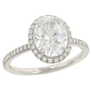 Pave Diamond Engagement Rings