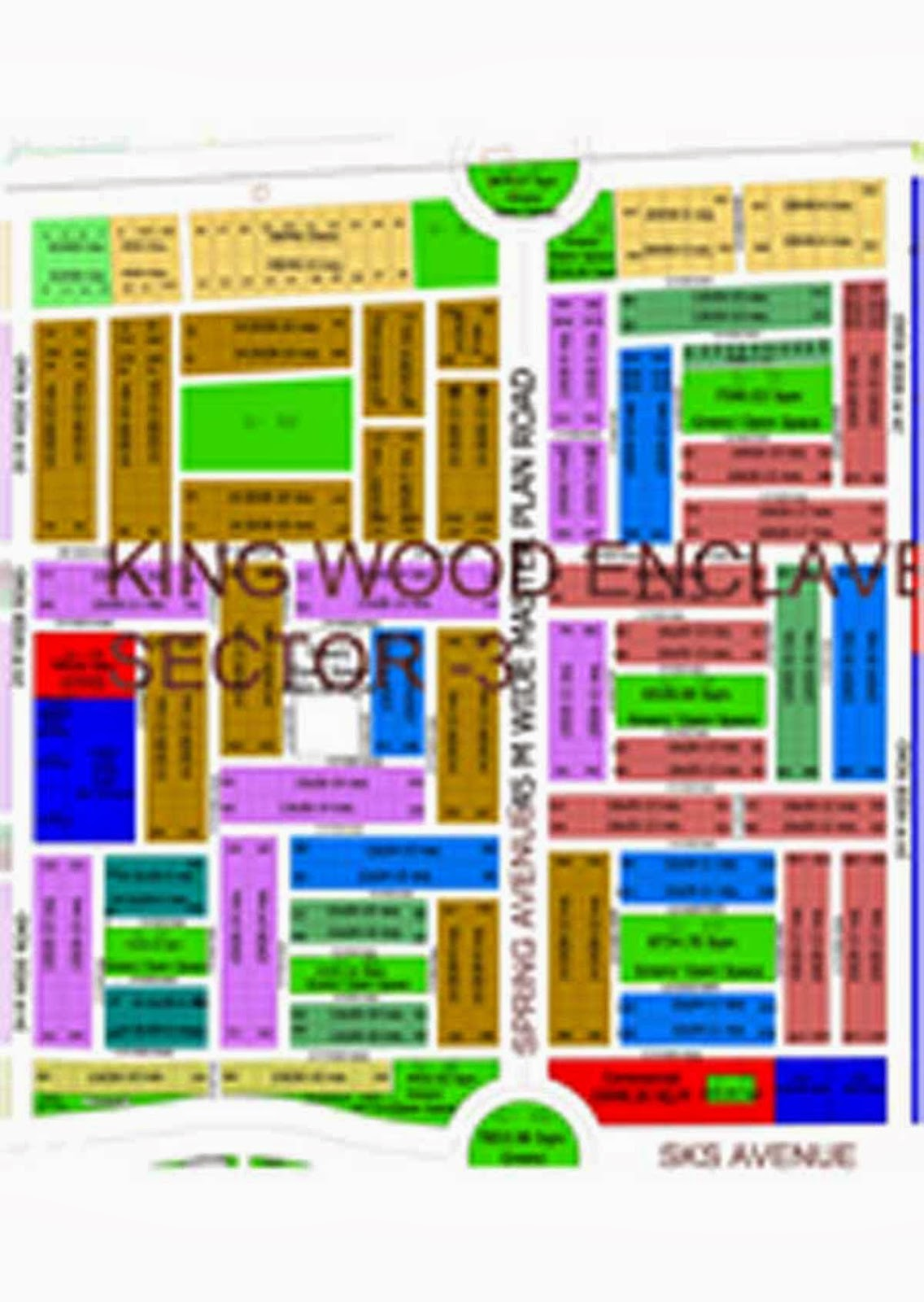 King wood enclave at wave city
