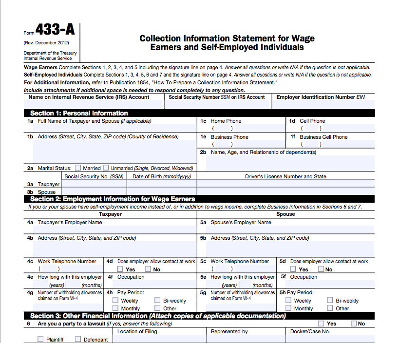 Stephen B Jordan Ea Form 433 A Form 433 F