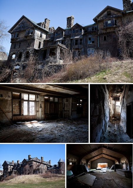 Top 10 Abandoned Amazing And Unusual Old Homes