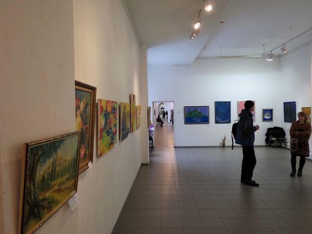 Ukrainian Art Week, фрагмент экспозиции