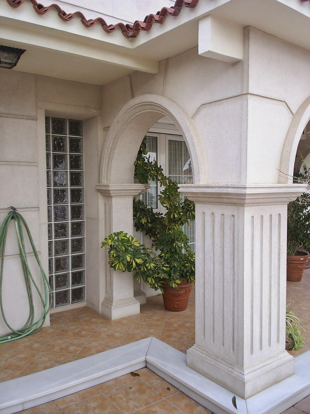 Piedra artificial valencia fran detalles y complementos for Zocalos para patios modernos