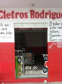 GOVERNADOR MANGABEIRA: ELETROS RODRIGUES