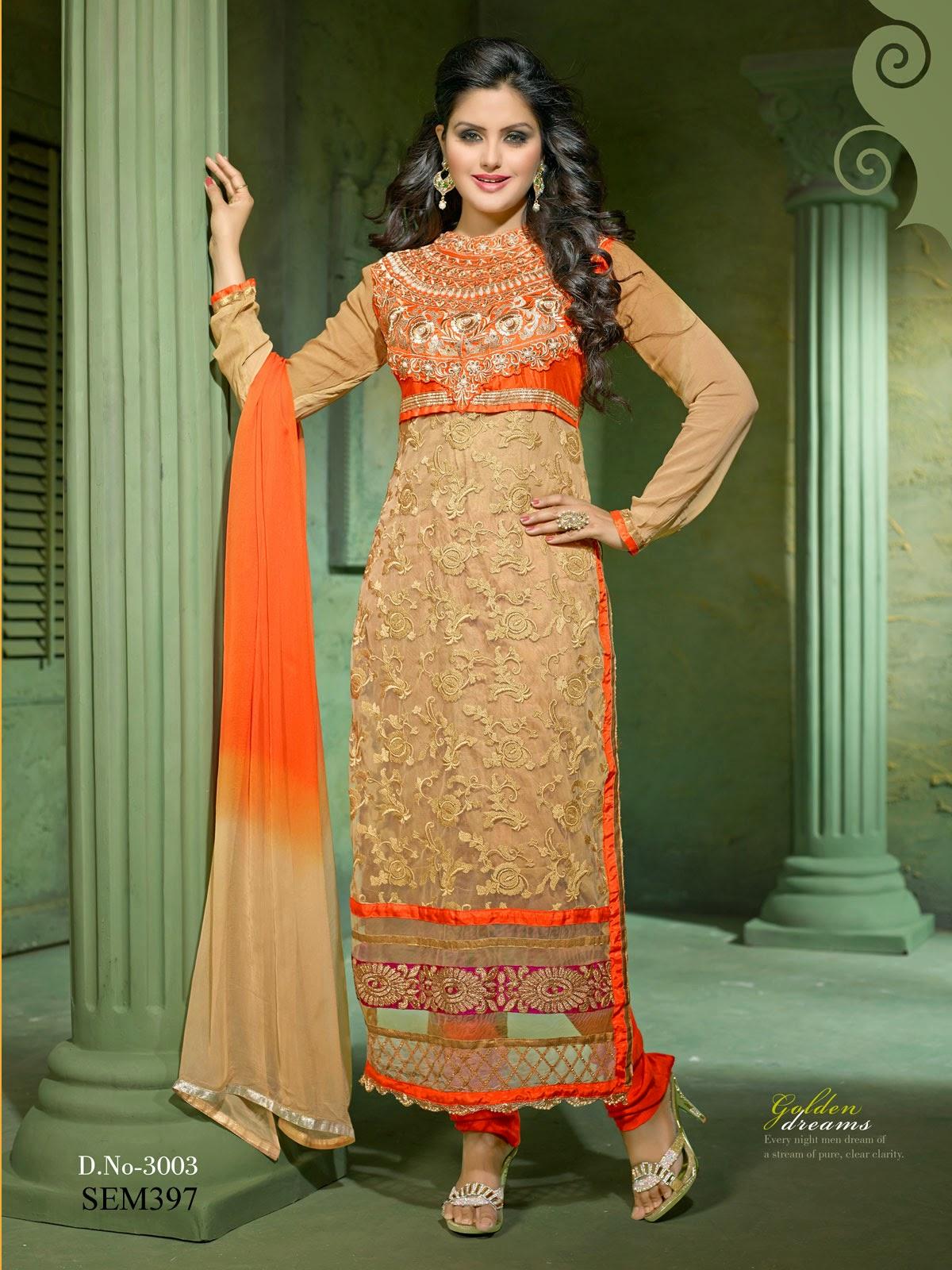 Long salwar dresses