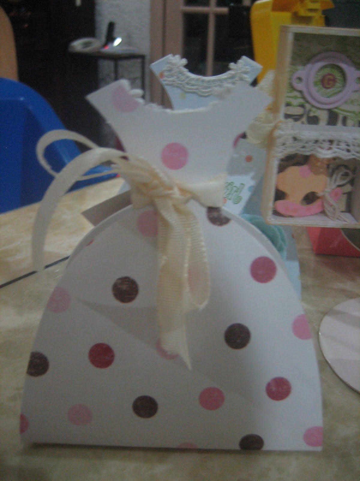 Paper crafts with kraftymom sizzix pro dies baby shower for Baby shower paper crafts