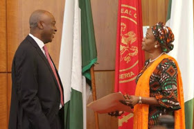 THE GAME: just a day after Saraki's first trial APC is already lining up Tinubu's wife and George Akume as possible replacements