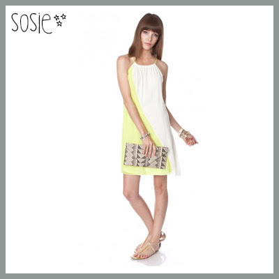 Sosie Colorblock Dress