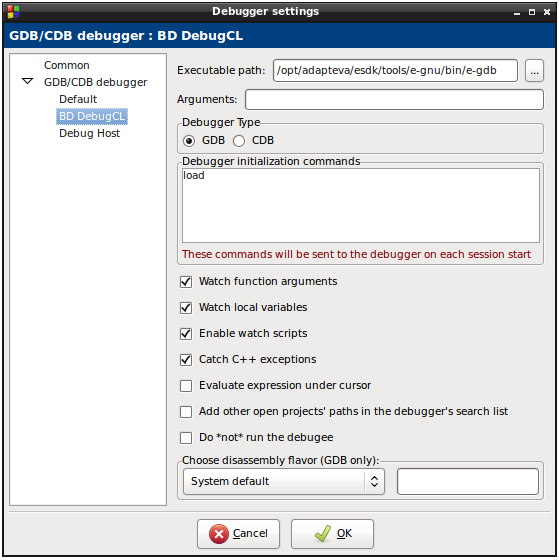 Parallella Ideas Designs And Executions Debugging With Gdb In Code