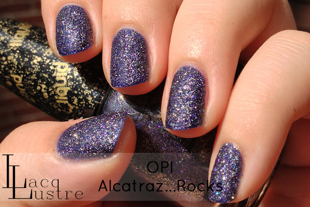 OPI Alcatraz...Rocks Swatches and Review