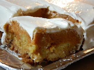 Pumpkin Crisp Using Cake Mix