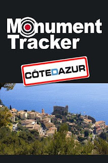 Application Monument Tracker « Côte d'Azur » GRATUITE