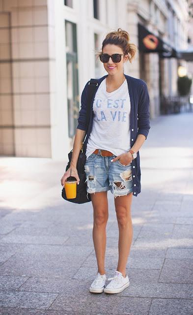 Ioanna's Notebook - 10 ways to wear shorts
