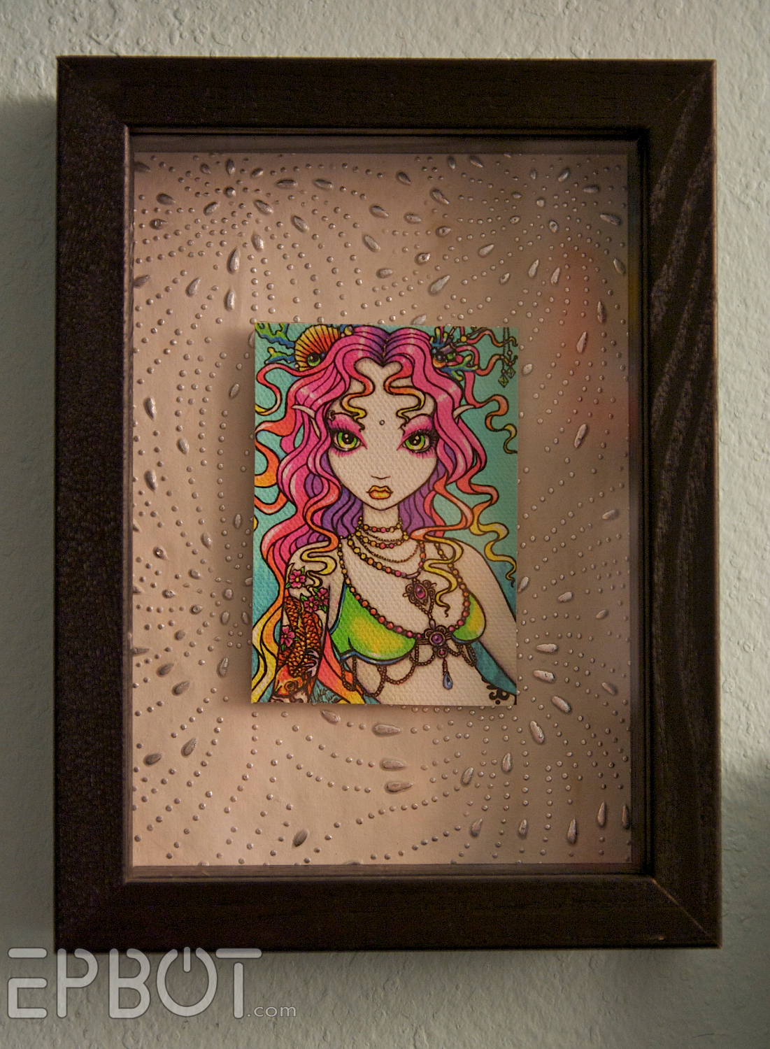 turn any fat frame into a shadowbox frame