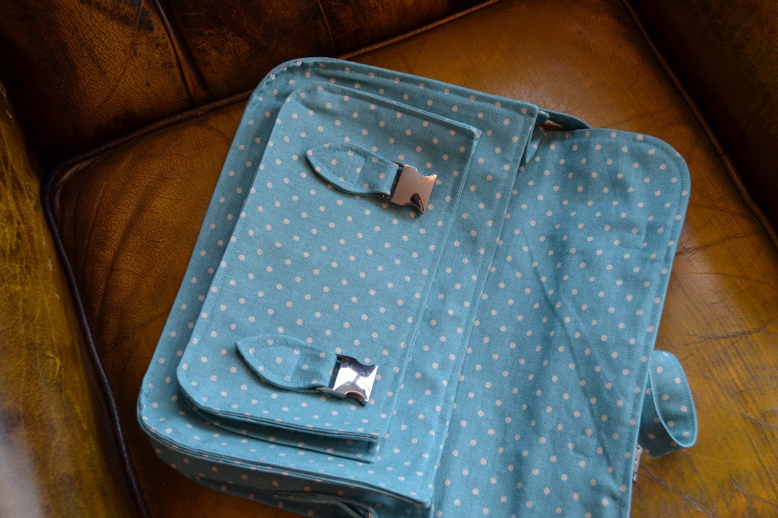 kitchen table sewing too cool for school satchel