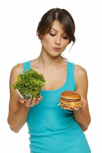 makanan segera penghalang anda untuk kurus