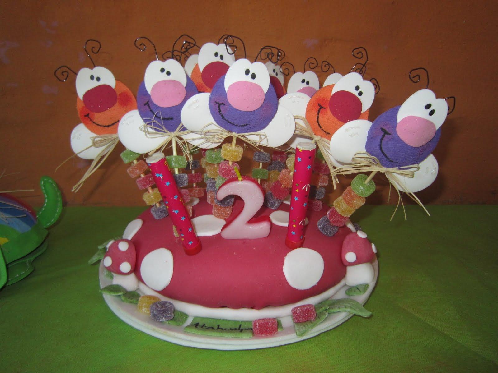 MIS COSITAS EN GOMA EVA: Souvenirs para cumpleaños