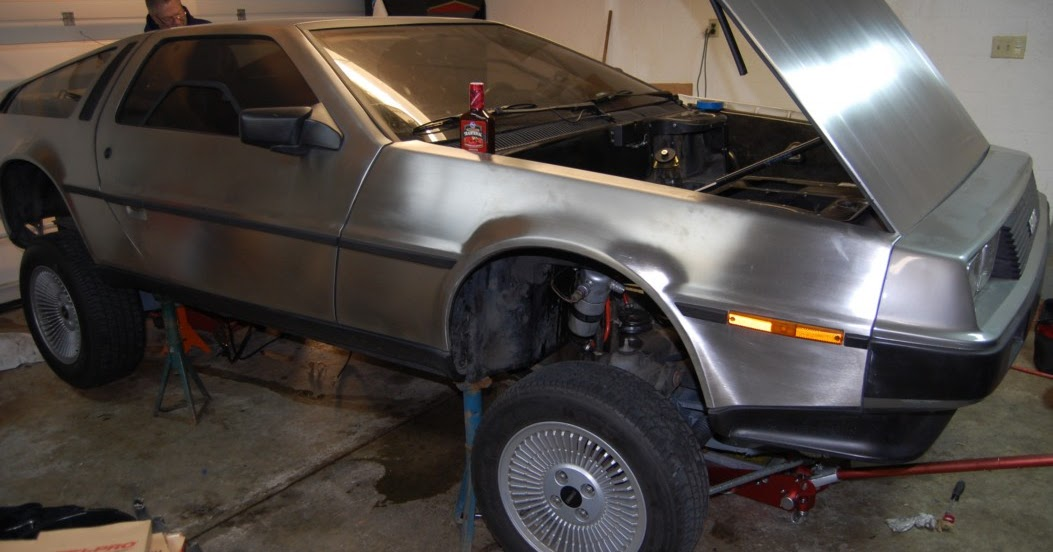 LS1 DeLorean: Body/Frame Separation