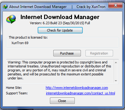 internet download manager serial key 6.23