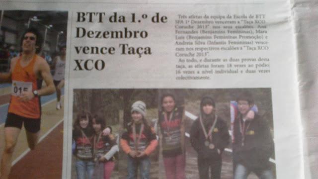 btt sfa 1º dezembro