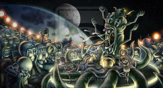Space Opera por banjaxedmdt