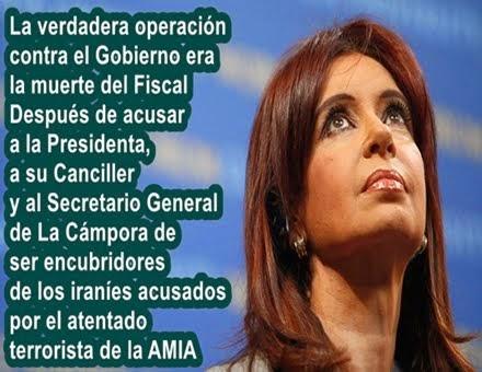 """MUNDO: Cristina Fernández de Kirchner: """"El suicidio de Nisman no fue suicidio"""""""