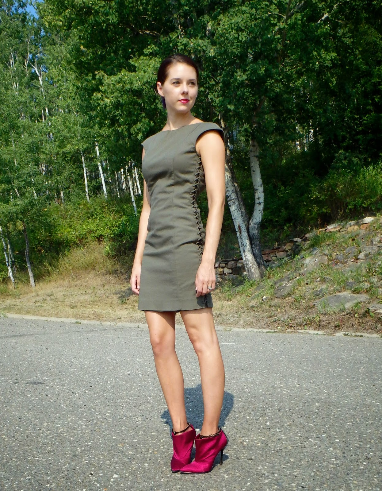 Canadian Fashion, Bright Heels