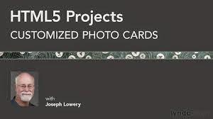 HTML5 + UX: Customized Photo Cards