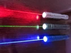 Canetas laser causam danos irreversíveis aos olhos
