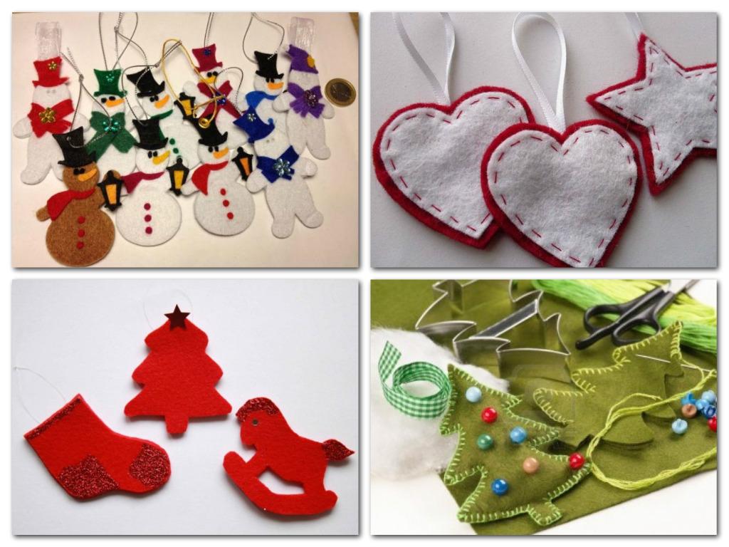 Blog di cinzia bois decorazioni in feltro bellissimi per - Decorazioni natalizie country fai da te ...