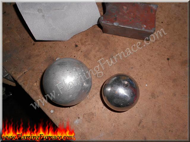 sand casting aluminum ball