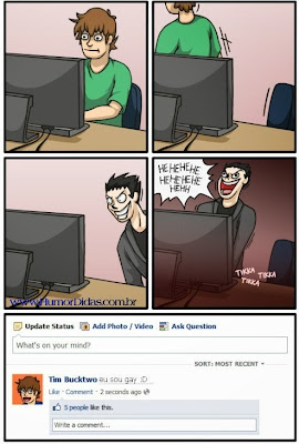 Tirinhas Divertidas para postar no Faceboook