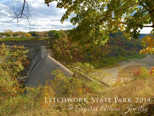 Letchworth State Park Fall 2014. Photo Credits: Crystal Allure Jewelry